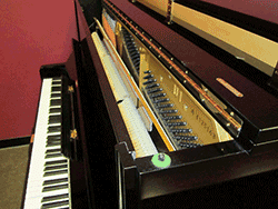 Factory Refinished and Refurbished Yamaha U-1 Pro Studio Piano