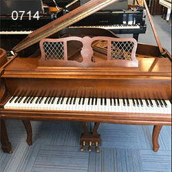 Vintage Chickering baby Grand Piano