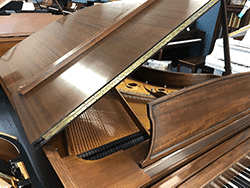 Steinway model L 5'10 grand piano