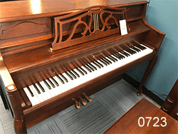 Preowned Bergman by Young Chang console piano
