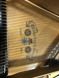 Chickering 5'8 grand piano