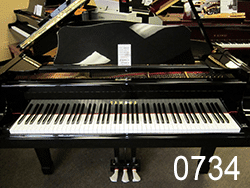 Yamaha model C-3 6'1 Concert Grand Piano