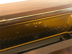 Yamaha model U-1 Piano