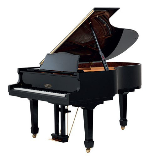 A Geyer Grand Piano Model 185