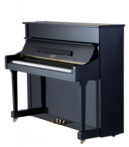 A Geyer Upright Piano Model 115