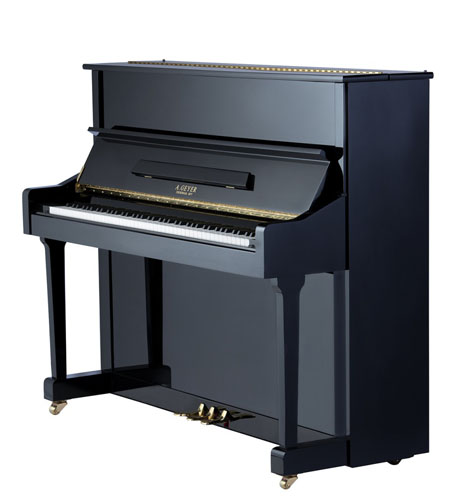 A Geyer Upright Piano Model 123
