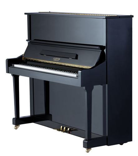A Geyer Upright Piano Model 133