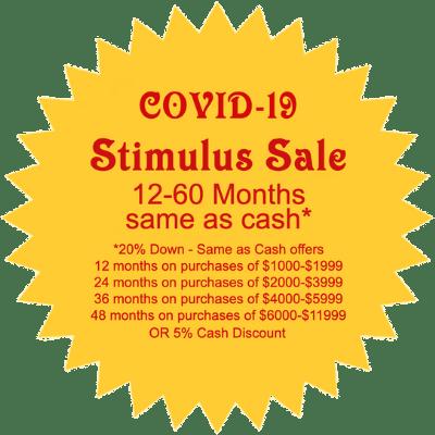 Stimulus Sale Badge