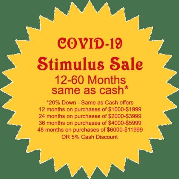 Stimulus Sale Notice